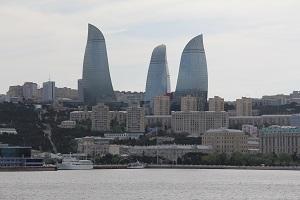 アゼルバイジャンのフレイアタワー