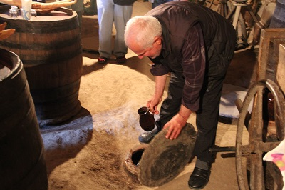 グルジアのワイン農家